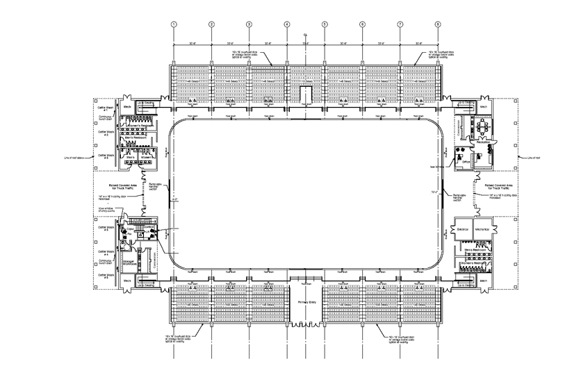Floor Plans Duplin Events Center